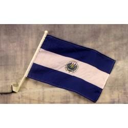 """El Salvador 12"""" x 15"""" Car Window Flag"""