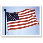 10'x 15' Nylon Embroidered American Flag