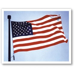 10'x 15' Nylon Embroidered American Flag