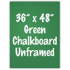 "36"" x 48"" Unframed Green Chalkboard Sign"