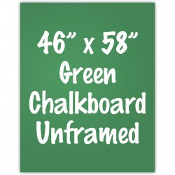 "46"" x 58"" Unframed Green Chalkboard Sign"