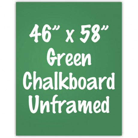 "48"" x 60"" Unframed Green Chalkboard Sign"