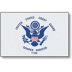 United States Coast Guard 3' x 5' Nylon Flag