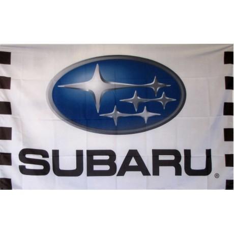Subaru Racing Automotive Logo 3'x 5' Flag