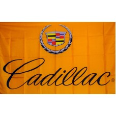 Cadillac Automotive Logo 3'x 5' Flag