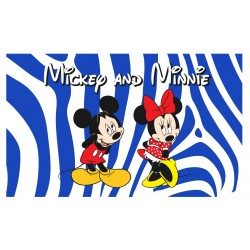 Mickey N Minnie 3'x 5' Flag