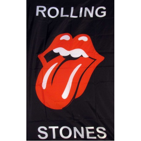 Rolling Stones Veritcal Novelty Music 3'x 5' Flag