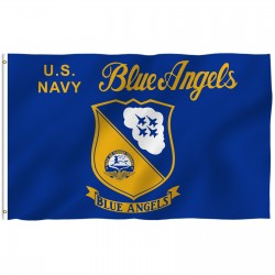 Navy Blue Angels 3'x 5' Economy Flag