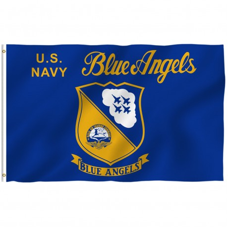 Navy Blue Angels 3' x 5' Polyester Flag