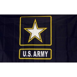 Army Star of One 3'x 5' Economy Flag