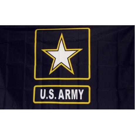 Army Star of One 3'x 5' Economy Flag