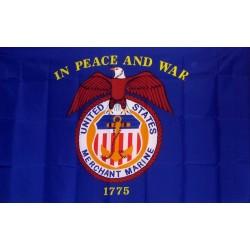 Merchant Marine 3'x 5' Flag