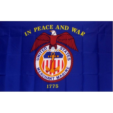Merchant Marine 3'x 5' Flag