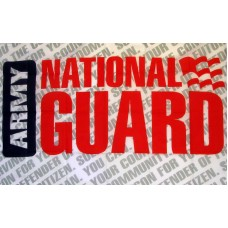 National Guard New 3'x 5' Economy Flag