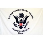 Coast Guard 3'x 5' Economy Flag