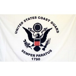Coast Guard 3' x 5' Polyester Flag