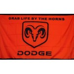 Dodge Ram Red/Black 3' x 5' Flag