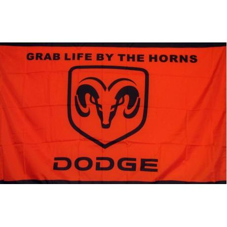 Dodge Ram Red/Black 3' x 5' Flag