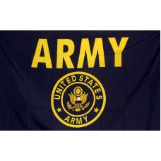 Army Gold Armored 3'x 5' Economy Flag