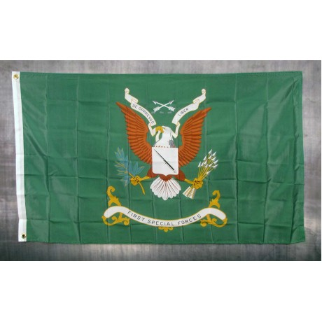 First Special Forces 3'x 5' Economy Flag