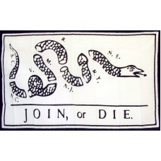 Join Or Die Rattlesnake 3'x 5' Flag