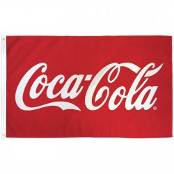 Coca-Cola 3'x 5' Novelty Flag