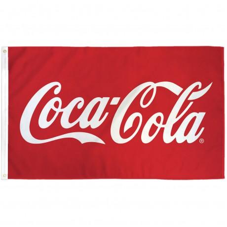 Coca-Cola 3' x 5' Polyester Flag