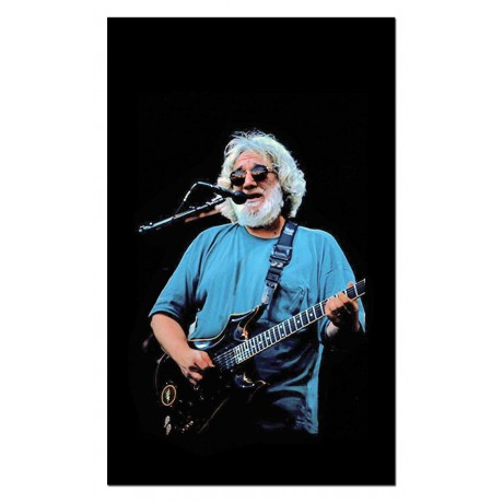 Jerry Garcia Picking Novelty Music 3'x 5' Flag