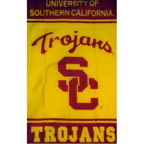 USC Trojans Vertical 3'x 5' College Flag