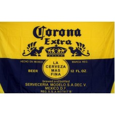 Corona Extra Blue And Gold Beer Premium 3'x 5' Flag