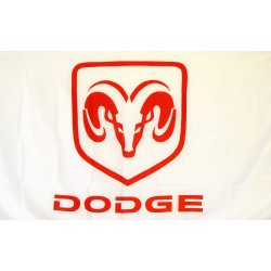 Dodge Ram Automotive Logo 3'x 5' Flag