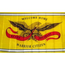 Welcome Home Warrior 3'x 5' Economy Flag