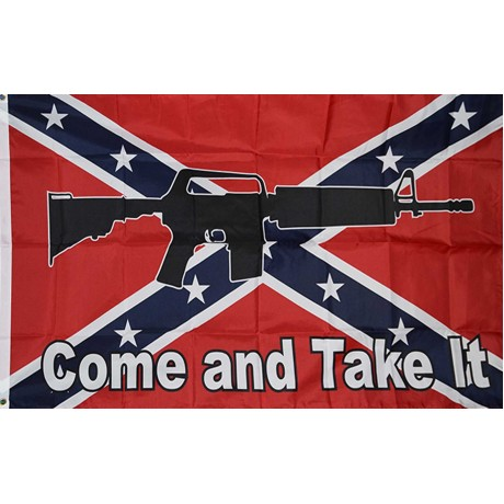 Come And Take It Rebel 3' x 5' Polyester Flag