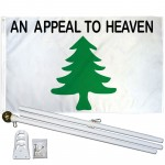 An Appeal To Heaven 3' x 5' Polyester Flag, Pole and Mount