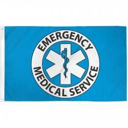 Emergency Medical Service 3'x 5' Flag