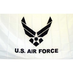 Air Force White 3'x 5' Economy Flag