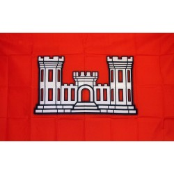 Vessel Army Corps of Engineers 3'x 5' Economy Flag