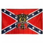Back Off Rebel 3' x 5' Polyester Flag