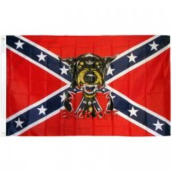 Back Off Rebel 3'x 5' Flag