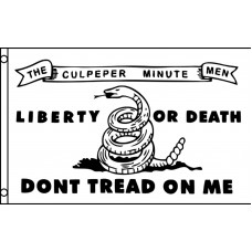 Don't Tread On Me Culpeper 3' x 5' Polyester Flag