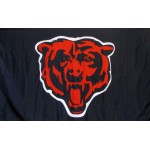 Chicago Bears Mascot 3' x 5' Polyester Flag