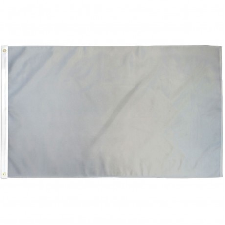 Solid Gray 3' x 5' Polyester Flag