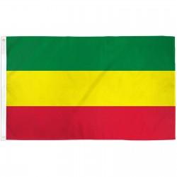 Ethiopia Plain 3' x 5' Polyester Flag