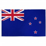 New Zealand 3'x 5' Country Flag
