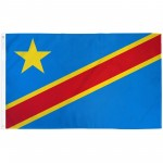 Congo Democratic Republic 3' x 5' Polyester Flag