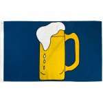 Beer Mug 3' x 5' Polyester Flag