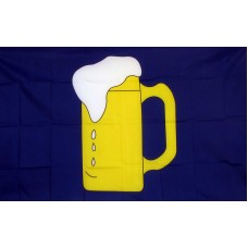 Beer Mug 3'x 5' Advertising Flag