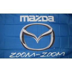 Mazda Blue 3'x 5' Flag