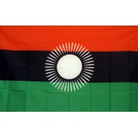 Malawi Country 3' x 5' Polyester Flag