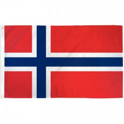 Norway 3'x 5' Country Flag
